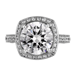 Jack Kelége Platinum Diamond Engagement Ring KPR375