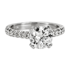 Jack Kelége platinum diamond engagement ring - KPR549