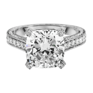 Jack Kelége platinum diamond engagement ring kpr551