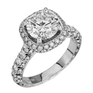 Jack Kelége platinum diamond engagement ring - KPR609