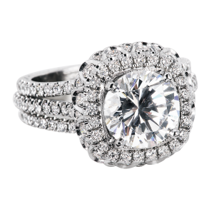 Jack Kelége platinum diamond engagement ring - KPR625