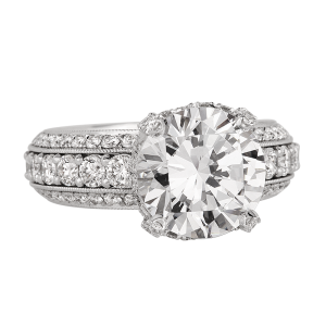 Jack Kelége platinum & diamond engagement ring KPR643