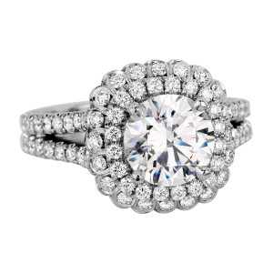 Jack Kelége platinum diamond engagement ring - KPR650