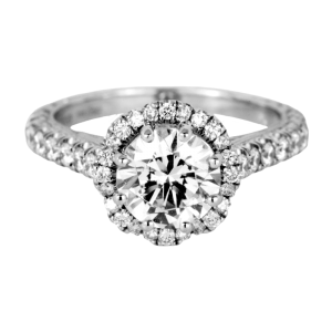 Jack Kelége platinum & diamond engagement ring - KPR751