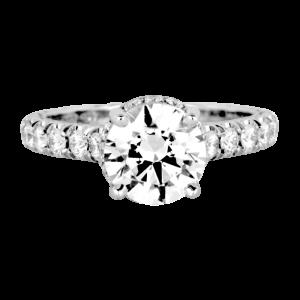 Jack Kelége platinum & diamond engagement ring - KPR753