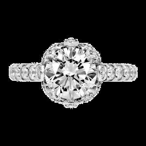 Jack Kelége platinum diamond engagement ring - KPR758