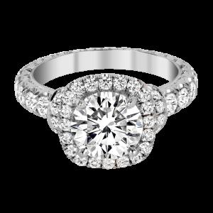 Jack Kelége platinum diamond engagement ring - KPR772