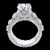 Jack Kelége diamond engagement ring set in platinum - KPR653