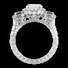 Jack Kelége diamond sapphire engagement ring - KPR727