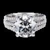 Jack Kelége split shank diamond engagement ring KGR1023