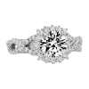 Jack Kelége twisted shank diamond engagement ring KGR1075