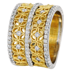 18k Yellow Gold - KGBD138-1
