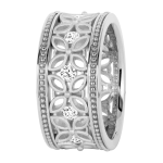 18k White Gold: Eternity - KGBD170-1