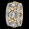 Jack Kelége Women's Diamond Wedding Band / Ring - KPBD739