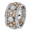 Jack Kelége platinum & rose gold diamond ring - KPBD742