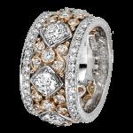 Platinum / 14k Rose Gold - KPBD742