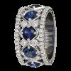 Jack Kelége Women's Diamond Wedding Band / Ring - KPBD773