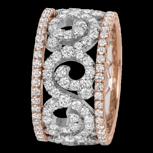 Jack Kelége Women's Diamond Wedding Band / Ring - KPBD786