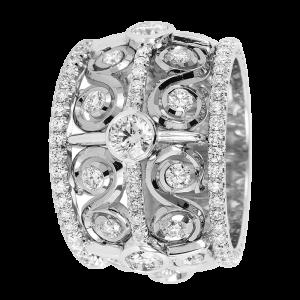 Jack Kelége diamond band - KGBD145