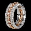 Jack Kelége rose gold diamond wedding ring - KGBD126