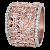 Jack Kelége Women's 18k Rose Gold Diamond Wedding Ring / Band - KGBD175