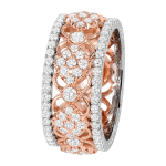 14k Rose Gold Eternity Band - KGBD191-P