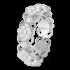 Jack Kelége Women's 18k White Gold Wedding Ring / Band - KGBD190