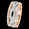 Jack Kelége Women's Diamond Wedding Ring / Band - KGBD161