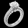 Jack Kelége Platinum Diamond Solitaire Engagement Ring - KPR770
