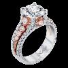 Jack Kelége Platinum Pink Diamond Engagement Ring - KPR587