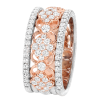 Jack Kelége Women's Diamond Rose Gold Wedding Band / Ring - KGBD192