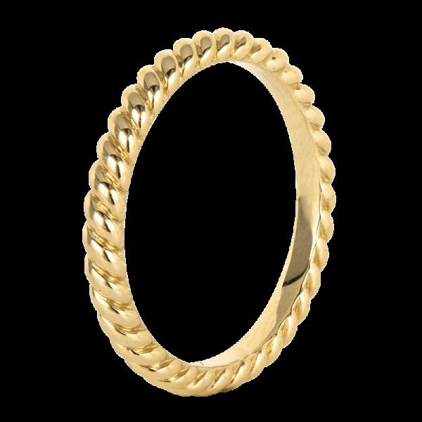 Jack Kelége Women's Rope Twist Wedding Band / Ring - KGBD212