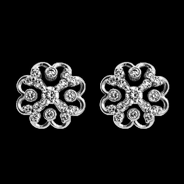 Jack Kelége Diamond Earrings - KGE118