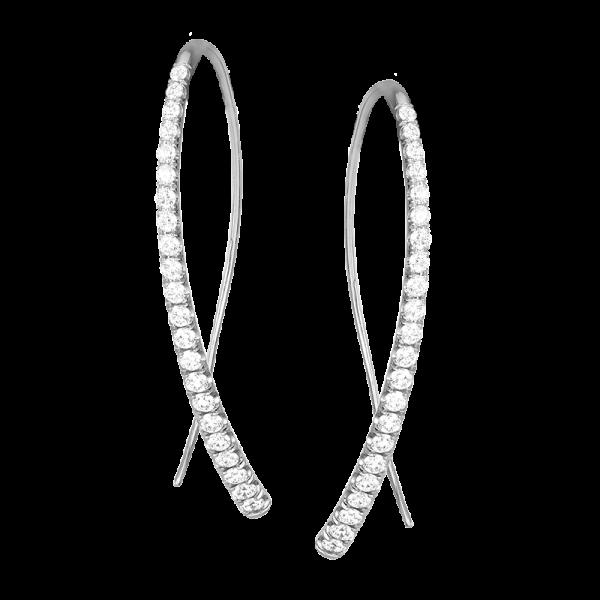 Jack Kelége Diamond Drop Earrings - KGE171