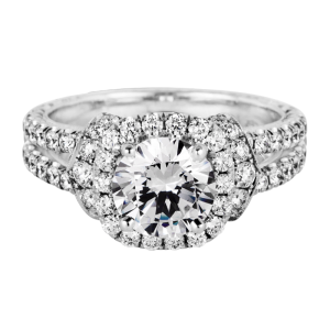 Jack Kelége Diamond Halo Engagement Ring - KGR1165