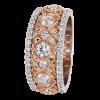 Jack Kelége Rose Gold Diamond Wedding Ring / Band - KGBD134