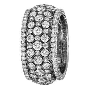 Jack Kelége Platinum Diamond Wedding Ring / Band - KPBD772