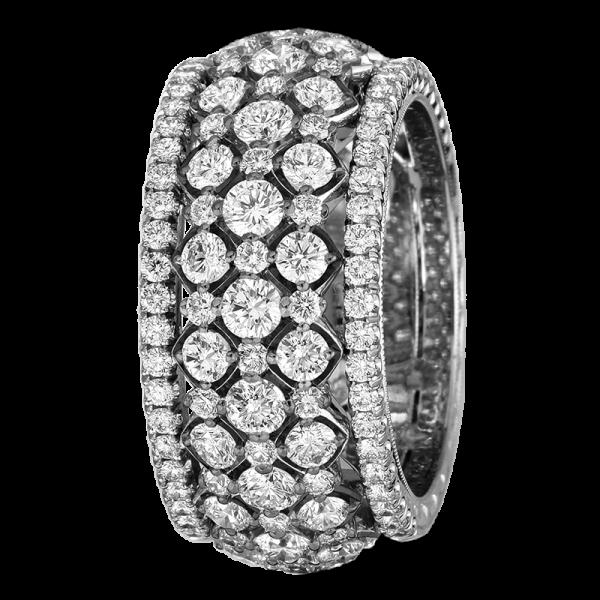 Jack Kelége Platinum Diamond Wedding Ring / Band - KPBD772