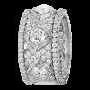 Jack Kelége Women's Platinum Diamond Eternity Wedding Band / Ring - KPBD783