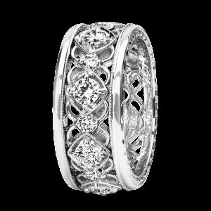 Jack Kelége Women's Diamond Wedding Band / Ring - KGBD230