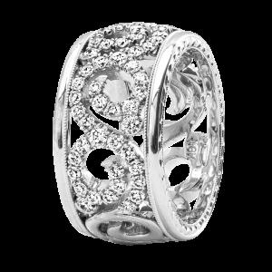 Jack Kelége Women's Diamond Wedding Band / Ring - KGBD232