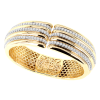Jack Kelége Diamond Cuff Bracelet - KGB114