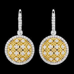 Jack Kelége Diamond Drop Earrings - KGE162