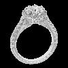 Jack Kelége platinum diamond engagement ring KPR751