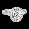 Jack Kelége oval diamond engagement ring - KGR1180