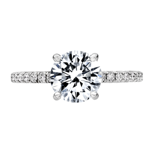 Jack Kelége diamond solitaire engagement ring - KGR1234