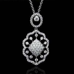 Jack Kelége diamond pendant necklace - KGN190