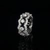 Jack Kelége floating diamond band - KGBD240