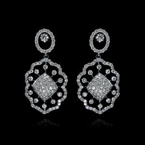 KGE236 - Jack Kelége diamond drop earrings