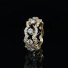 Jack Kelége - KGBD240 - yellow gold diamond band